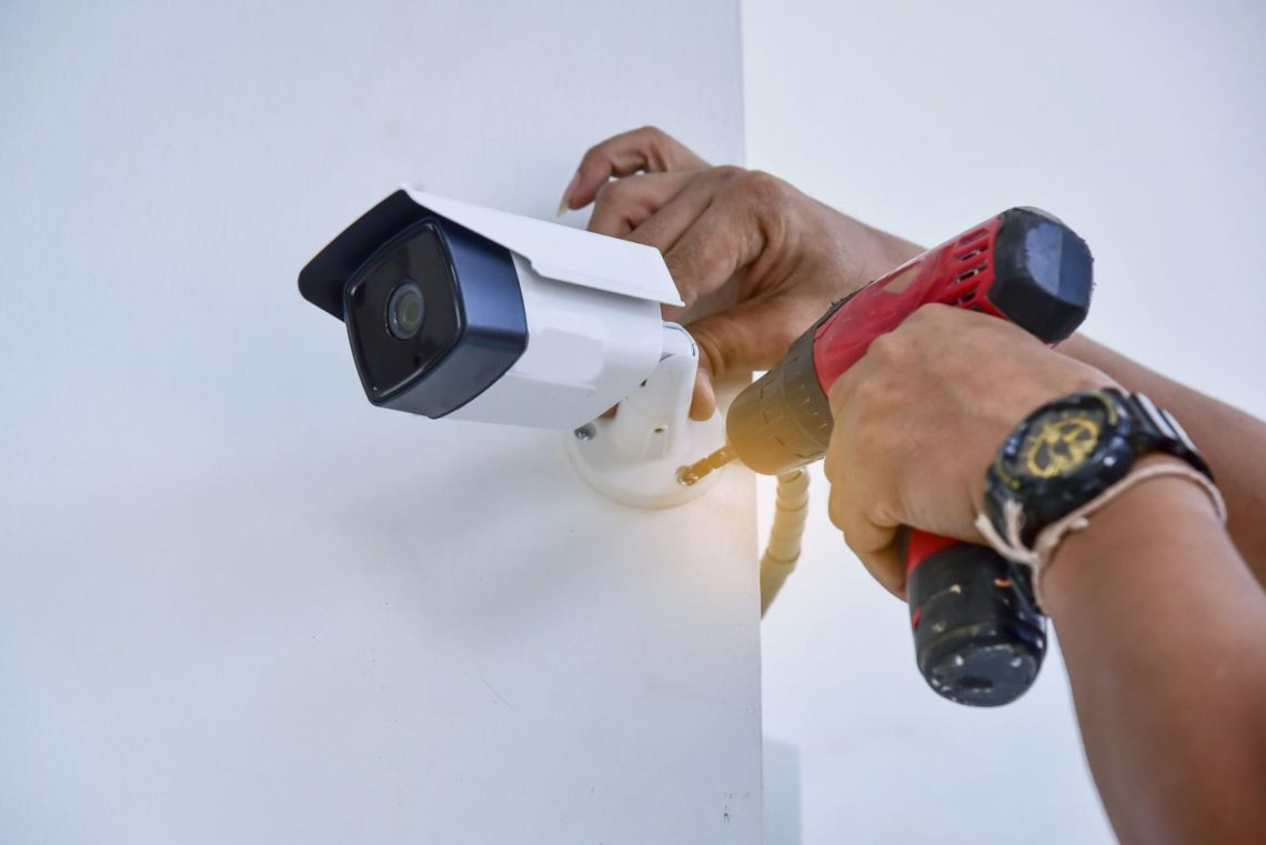 installation video de surveillance